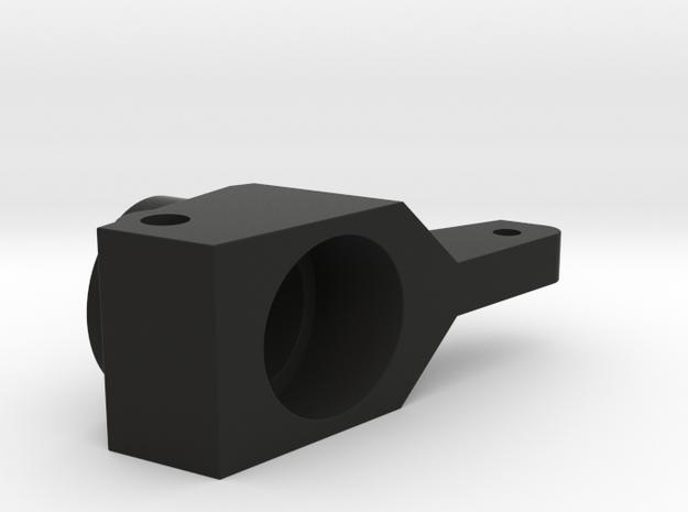 Rear Hub, 0 Deg in Black Natural Versatile Plastic