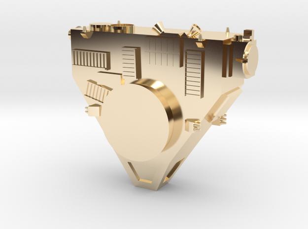 New Horizons Probe Body in 14K Gold