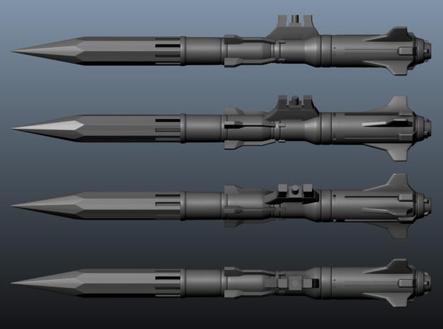 VF-171 Missile 'Anti-Vaj' x6 - BANDAI 3d printed