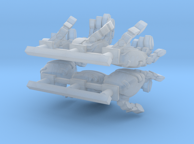 VF-11 Relámpago - Hands; Rifle Grip + Neutral 3d printed
