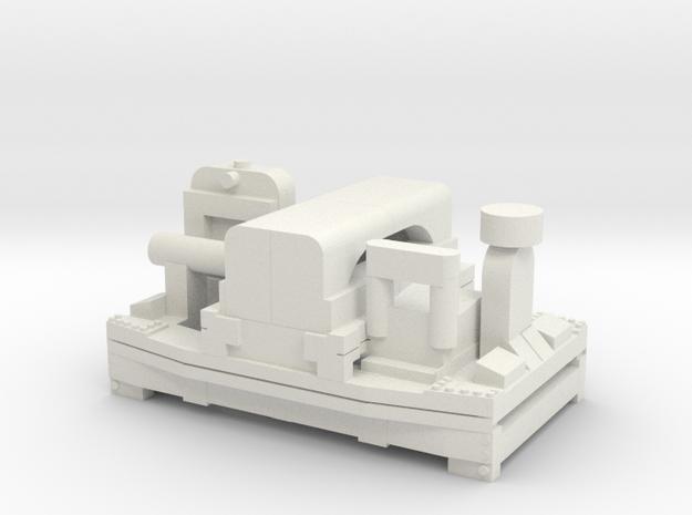 A-1-160-20hp-simplex-1a in White Natural Versatile Plastic