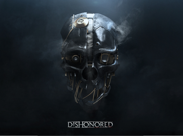 Dishonored: Corvo Attano Mask 3d printed