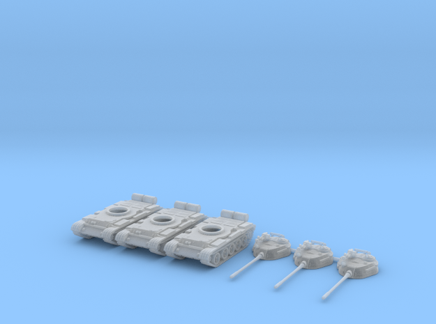 1/160 scale T-55 tanks