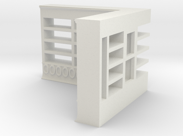 Shelf / Regal kaadesign in White Natural Versatile Plastic