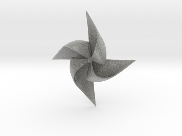 PINWHEEL-ghg in Metallic Plastic