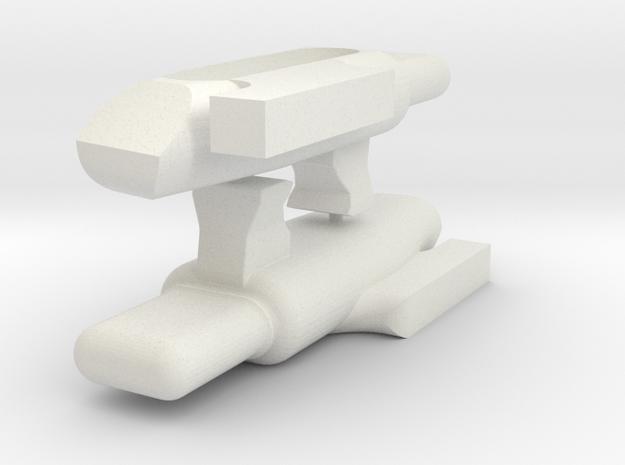 KJW KC-02 Follower 2 Pack in White Natural Versatile Plastic