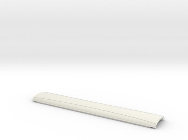 BPR0507 GCR 50' London Suburban Roof in White Natural Versatile Plastic