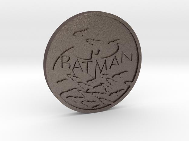 Batman in Stainless Steel
