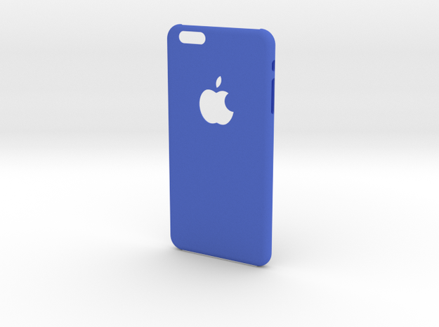 Iphone 6 Plus Customizable in Blue Strong & Flexible Polished