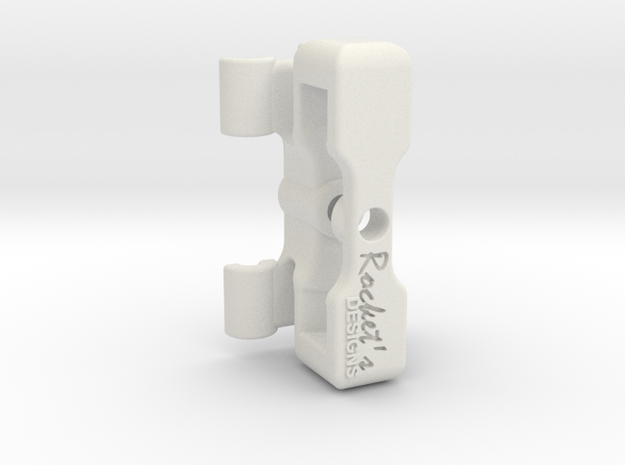 EDrum Rocket Trigger System (Bottom Clamp) in White Natural Versatile Plastic