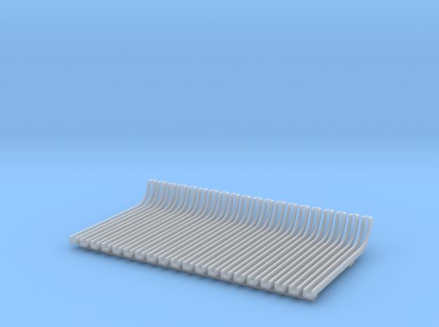 1/87 Z/U/Radschiene in Smooth Fine Detail Plastic