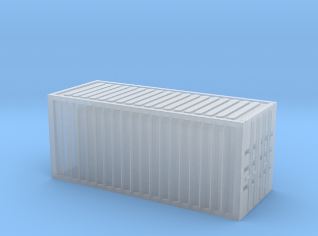 1/450 Container 20ftx1 in Smooth Fine Detail Plastic