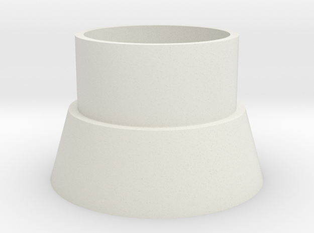 1/87 WKA Sokel in White Natural Versatile Plastic