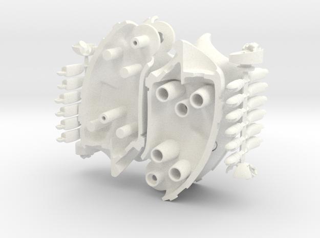 Rau - Forearm and Hand; L & R Set 3d printed
