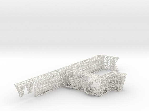 Stern Core Port V0.2b in White Natural Versatile Plastic