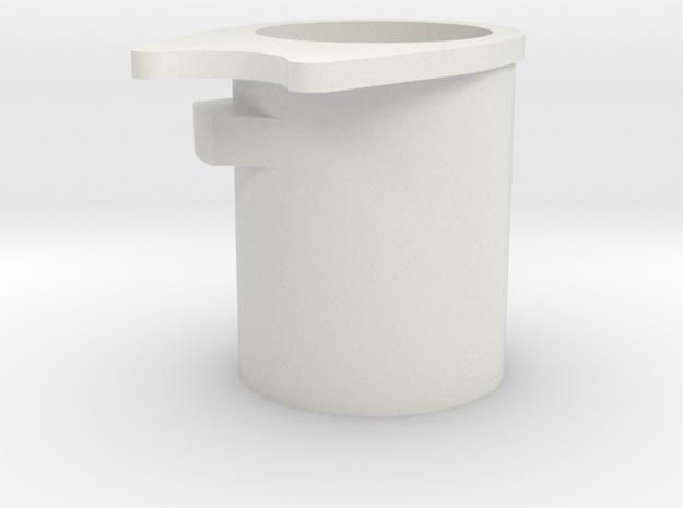 WE MEU 1911 Barrel Bushing in White Natural Versatile Plastic