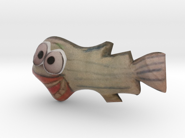 Fish in Full Color Sandstone