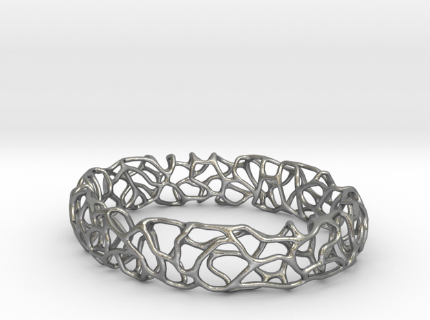 Bracelet Vines  in Natural Silver