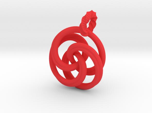 pendant twirl 3d printed