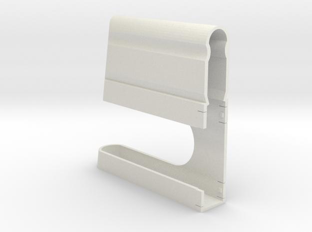 K31 Clip V6 in White Natural Versatile Plastic