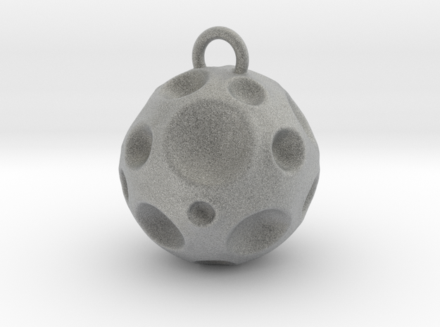Meteorite hollow 3d printed