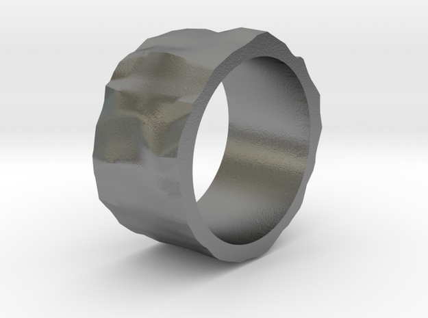 Stone age ring - size 6 US in Natural Silver