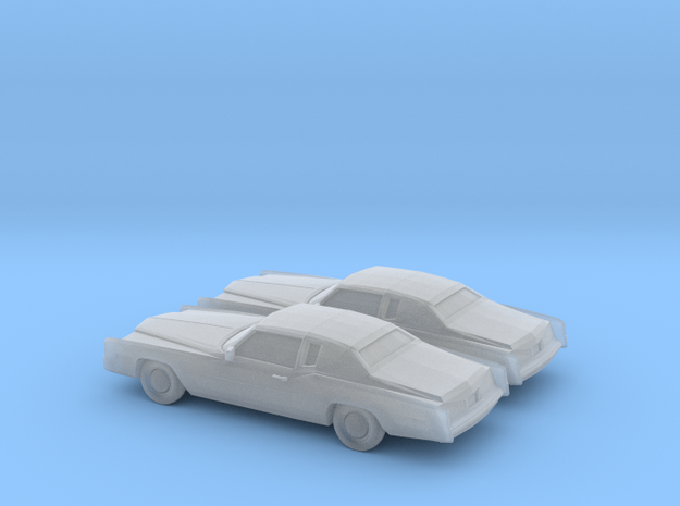 1/160 2X 1978 Cadillac Eldorado in Smooth Fine Detail Plastic