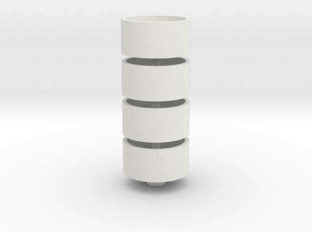 20.8Rim4 in White Natural Versatile Plastic