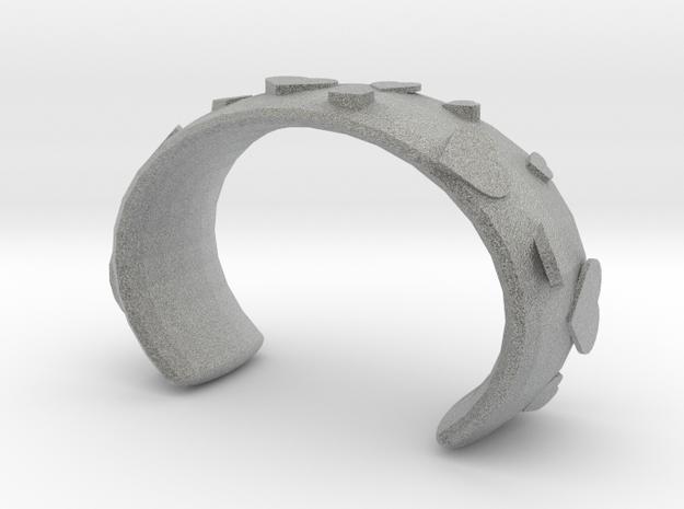 Love bracelet in Metallic Plastic