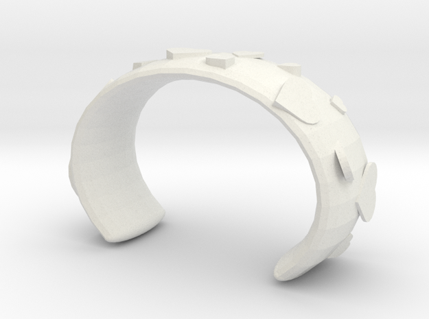 Love bracelet in White Natural Versatile Plastic