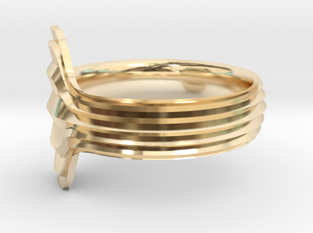 New Ring Design  in 14K Yellow Gold