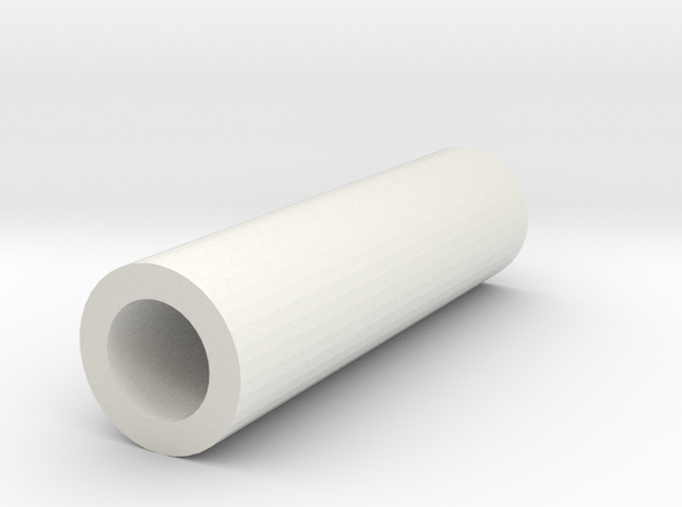 Joystick Potientiometer 20mm Pipe Spacer in White Strong & Flexible
