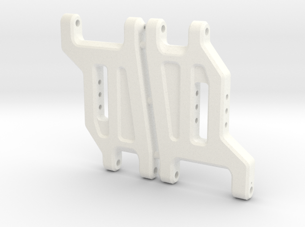'91 Worlds Conversion - Front Arms 2.0 in White Processed Versatile Plastic