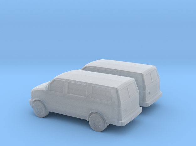 1/160 2X 1995-05 Chevrolet Astro Van in Smooth Fine Detail Plastic