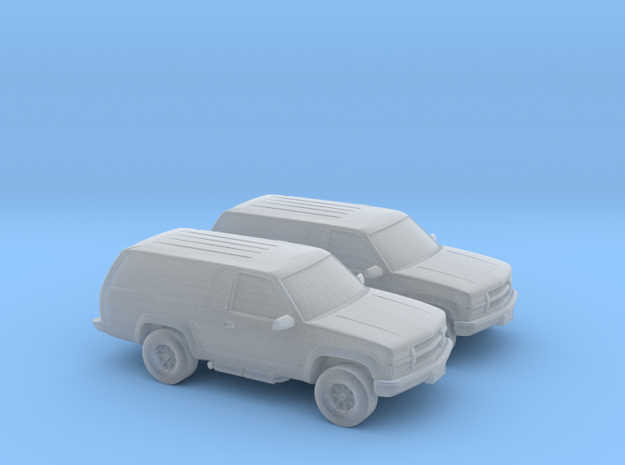 1/160 2X 1999 Chevrolet Blazer in Frosted Ultra Detail