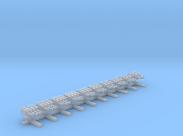 10xMartinhorn-Hansa in Smooth Fine Detail Plastic