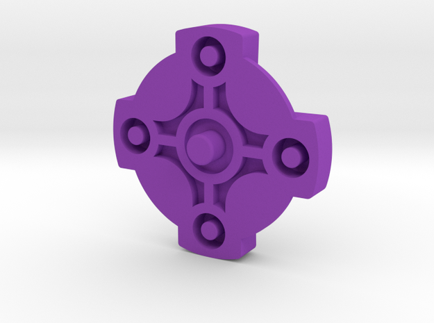 Directional GBA SP Button 3d printed