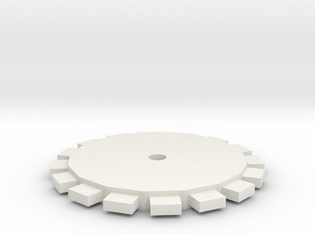 Roldana in White Natural Versatile Plastic
