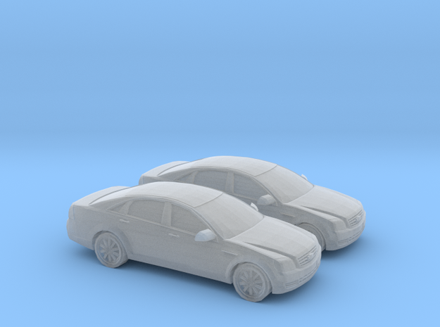 1/160 2X 2009 Chevrolet Caprice in Smooth Fine Detail Plastic