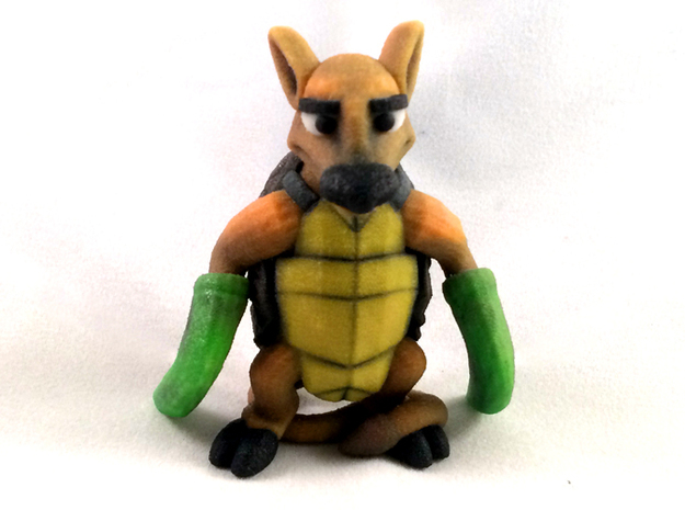 Mock Turtle in Full Color Sandstone