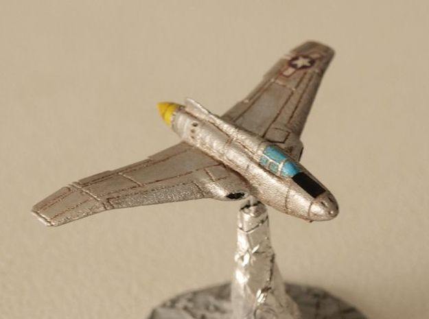Northrop XP-56 Black Bullet 1/285 Frost Ultra in Smooth Fine Detail Plastic