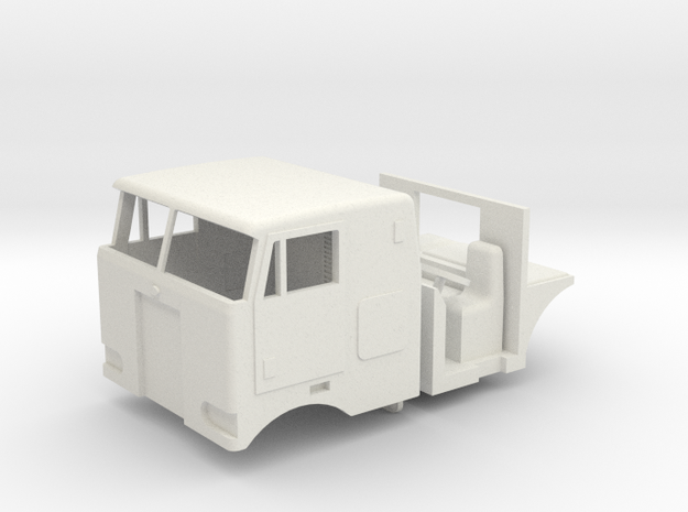 1/64 Peterbilt 352 Cab, Interior, grill and headli