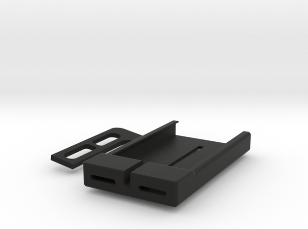 iPhone4S Holder For Laptop Display in Black Strong & Flexible