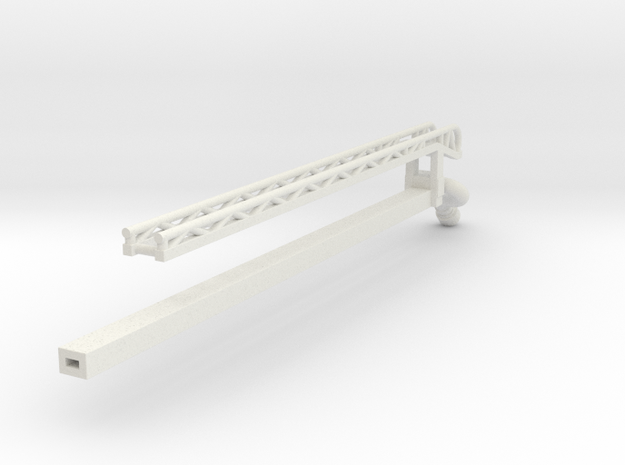ladder stage 4 of 4 in White Natural Versatile Plastic