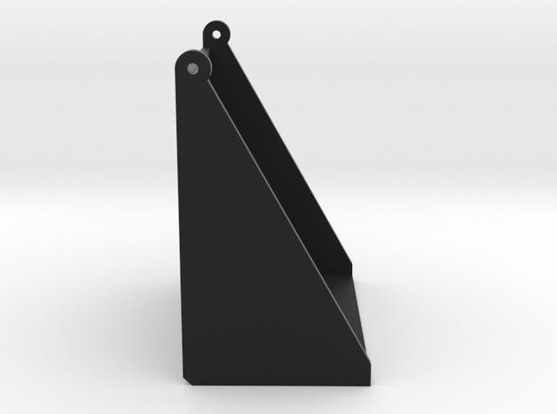 Revi16 Bulb Cover in Black Natural Versatile Plastic