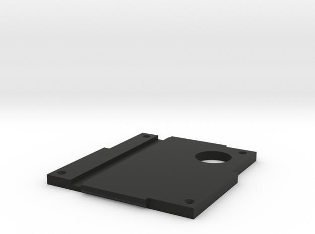 Revi16 Baseplate in Black Natural Versatile Plastic