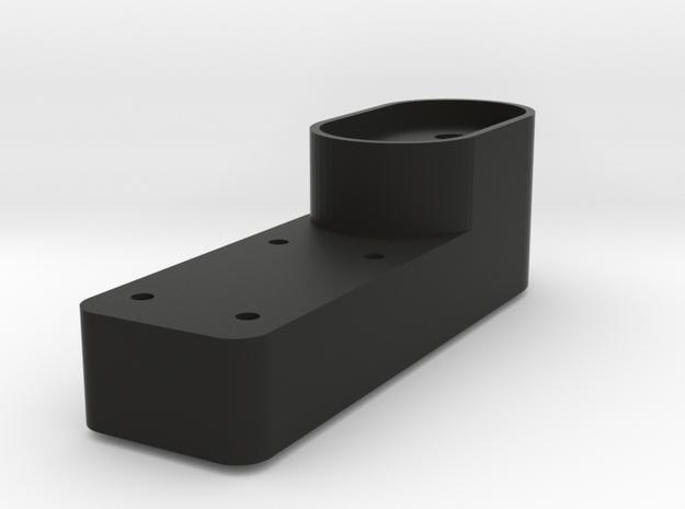 Revi16 Pull Lever in Black Natural Versatile Plastic