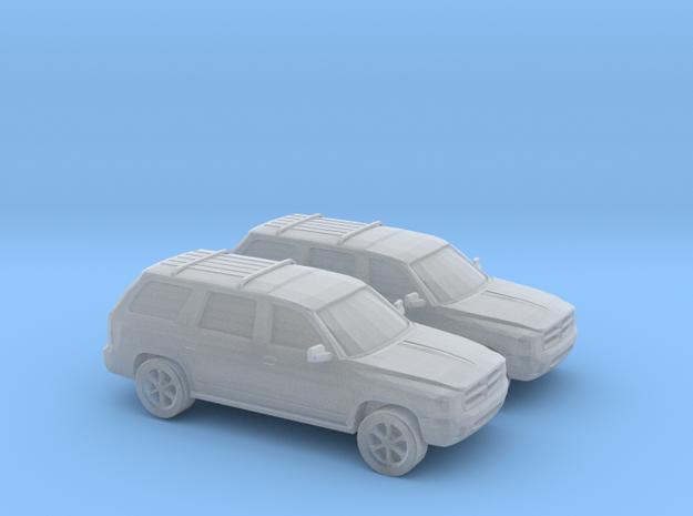 1/160 2X 1999 Dodge Durango in Smooth Fine Detail Plastic