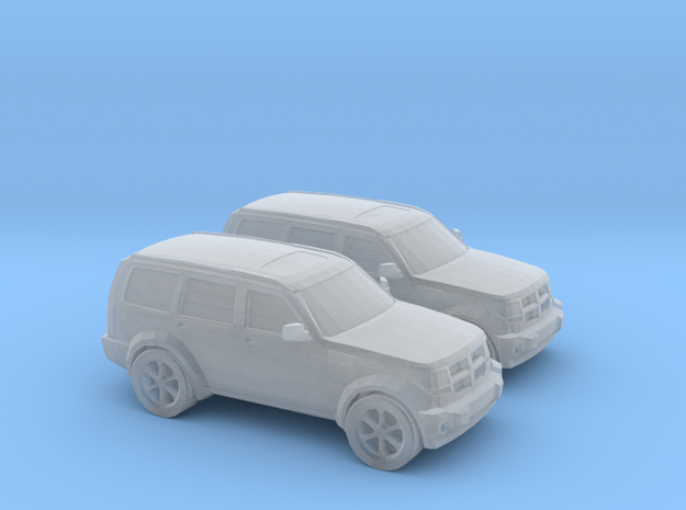 1/160 2X 2010 Dodge Nitro in Smooth Fine Detail Plastic