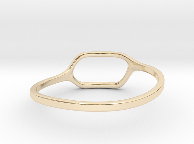 Back to basic collection - size 6 in 14K Yellow Gold